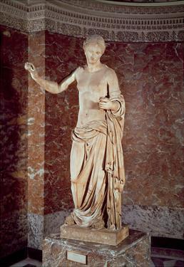 The Venus of Arles, Roman Copy of a Greek Original, C.30 Bc-14 Ad (Marble) by Praxiteles