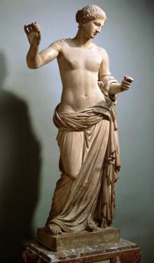 The Venus of Arles, Roman Copy of a Greek Original, c.30 BC-14 Ad by Praxiteles