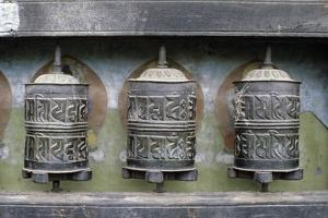 Prayer Wheels, Patan, India