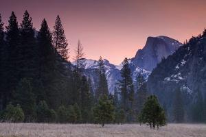 Pre Dawn at Half Dome, Yosemite Valley