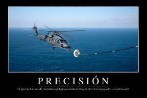 Precisión. Cita Inspiradora Y Póster Motivacional