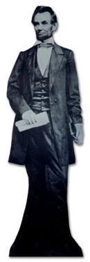 President Abraham Lincoln Lifesize Standup