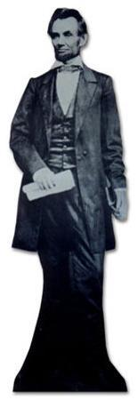 President Abraham Lincoln Lifesize Standup