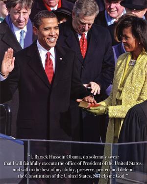 President Barack Obama Inauguration Art Print Poster