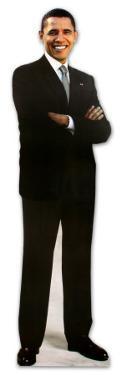 President Barack Obama Lifesize Cardboard Cutout