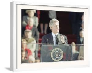 President Bill Clinton Delivers His First Inaugural Address, January 20, 1993