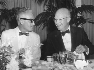 President Eisenhower with Arizona Senator Barry Goldwater