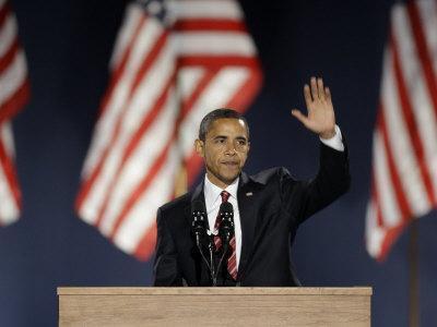 Framed Ali Barack Obama Official 2009 Portrait Photo Size: 12.5 x 15.5
