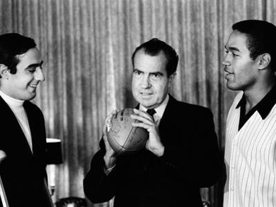 President-Elect Richard Nixon Was Visited by All-Americans