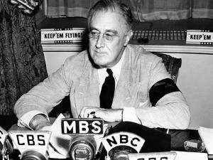 President Franklin Roosevelt Warns the Nation About German Provocations