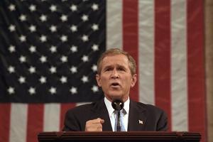 President George W. Bush Announced That 'Our War on Terror Begins with Al Qaeda