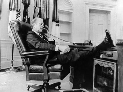 President Gerald Ford's First Week in Office