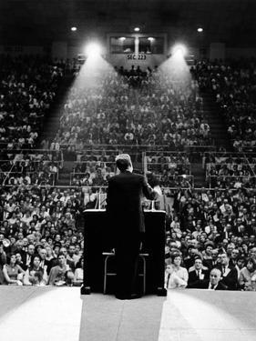 President John Kennedy Campaigns for Democrats in the Mid-Term Elections