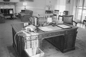 President Kennedy's Desk in the White House