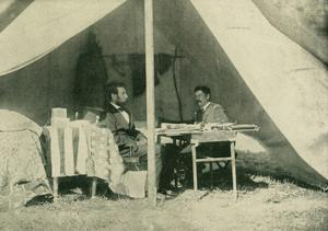 President Lincoln and General McClellan