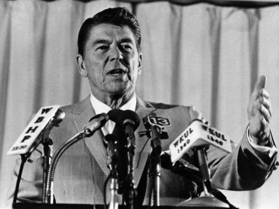 President, Ronald Reagan, 1975