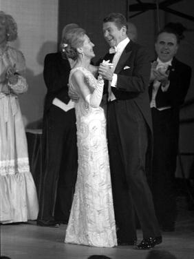 President Ronald Reagan and His Wife