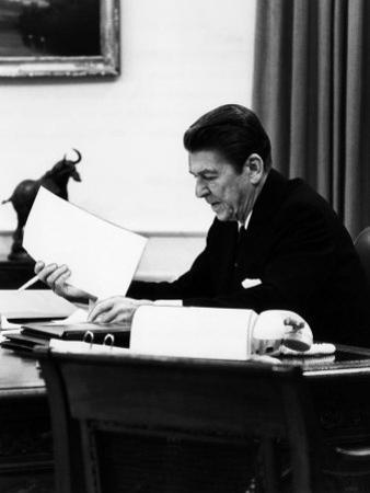 President, Ronald Reagan, April, 1981