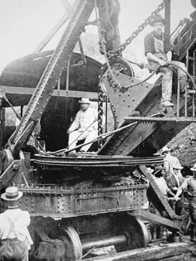 President Theodore Roosevelt, T the Culebra Cut During the Digging of the Panama Canal, 1906