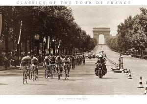 1975 Tour Finish on the Champs Élysées by Presse 'E Sports