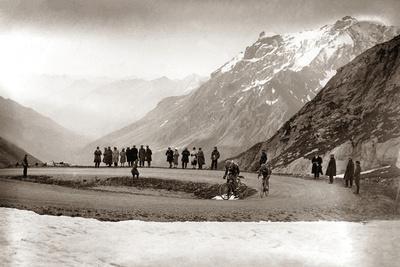Snow on the Galibier, 1924