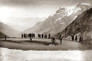 Snow on the Galibier, 1924 by Presse 'E Sports