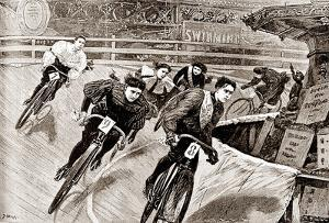 Women Track Cyclists, 1898 by Presse 'E Sports