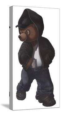 Gangsta Teddy Figure by Preston Craig