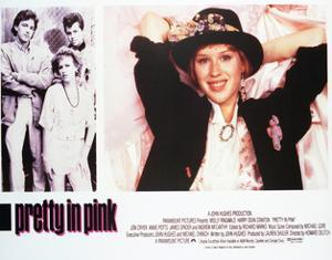 Pretty in Pink - Lobby Card Reproduction