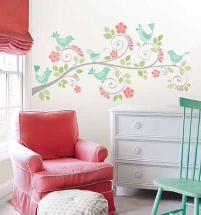Pretty Tweet Wall Art Kit