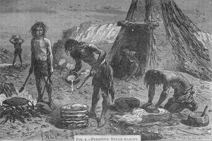 Primitive Breadmaking, 1894