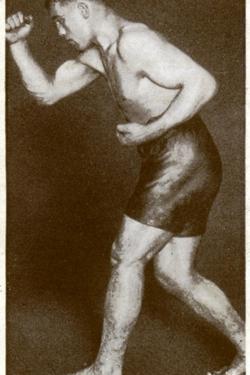 Primo Carnera, Italian Boxer, 1938