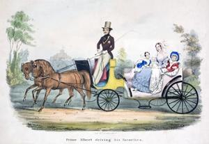 Prince Albert Acting as Chauffeur to the British Royal Family