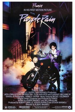 "PRINCE. ""PURPLE RAIN"" [1984], directed by ALBERT MAGNOLI."