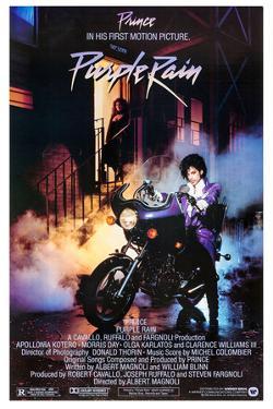 "PRINCE. ""PURPLE RAIN"" [1984], directed by ALBERT MAGNOLI."