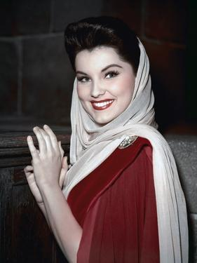 PRINCE VALIANT, 1954 directed by HENRY HATHAWAY Debra Paget (photo)