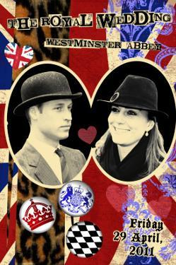 Prince William and Kate Middleton, The Royal Wedding Black and White Photo Scrapbook