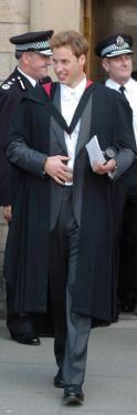 Prince William Graduation, St. Andrews, Scotland