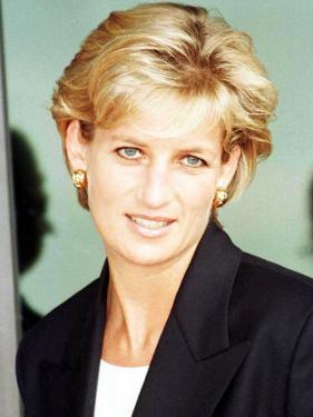 Princess Diana Arrives in Luanda Angola January 1997