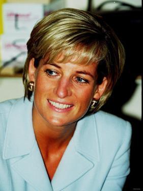Princess Diana at Brompton Hospital to Highlight Cystic Fibrosis Week