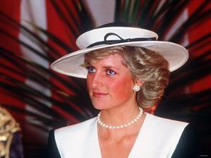 Princess Diana at the Guildhall to Receive Freedom of the City of London July 1987
