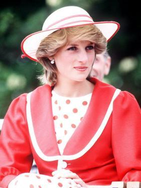 Princess Diana in Canada at the Festival of Youth in St Johns Newfoundland June 1983