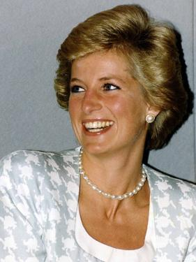 Princess Diana Patron of the British Lung Foundation