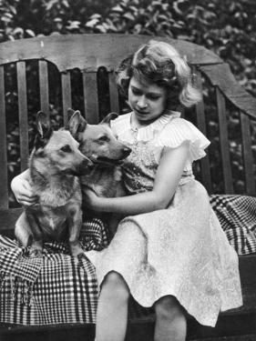 Princess Elizabeth of York in the Garden