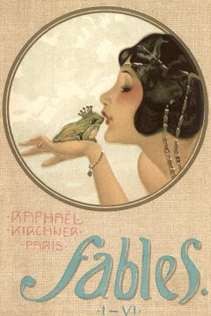 Princess Kissing Frog Prince