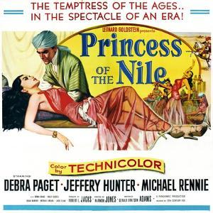 Princess of the Nile, from Left: Debra Paget, Jeffrey Hunter, 1954