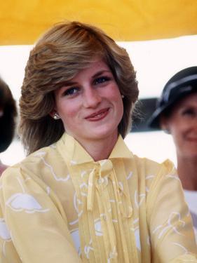 Princess of Wales at St Johns Ambulance Regional Centre at Alice Springs Australia Princess Diana