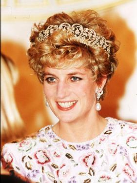 Princess of Wales in Korea Princess Diana November 1992