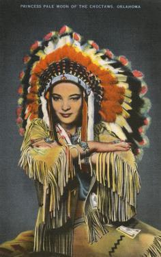 Princess Pale Moon, Choctaw Indian