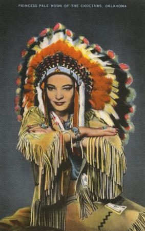 Princess Pale Moon, Choctaw Indian